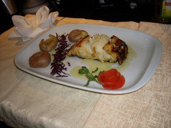 Restaurante Expresso: grilled COD FISH