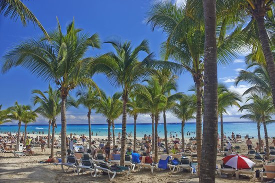 Hotel Riu Palace Riviera Maya: Riu Palace beach