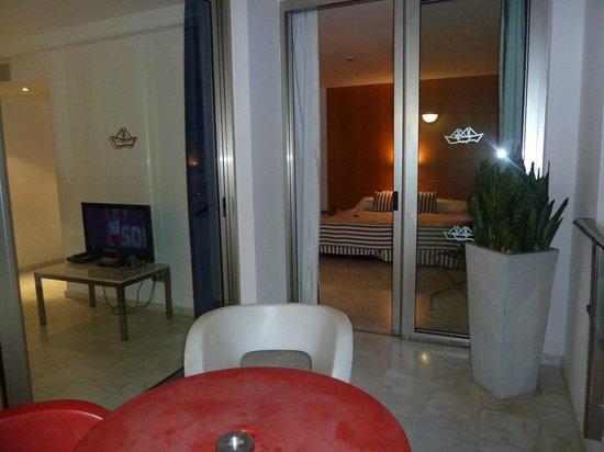 Marina Suites : Balcony Leading into Bedroom
