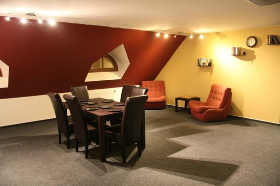 Hostel John Galt: Living room