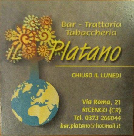 Bar Trattoria Il Platano