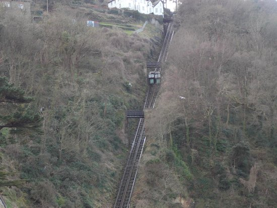 Bay Valley of Rocks Hotel: cliff railway