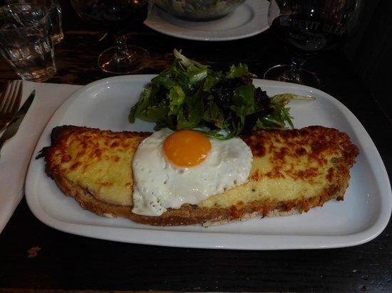 Le Petit Cler: croque madame, yummy