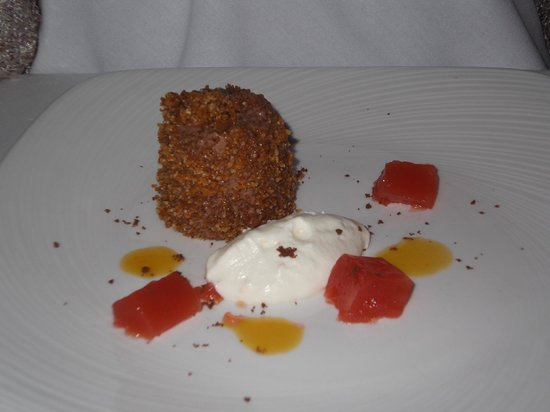 Bartley Lodge Hotel: Chocolate & Blood Orange Marquise Dessert