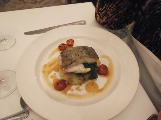 Bartley Lodge Hotel: Wonderful Cod Dinner