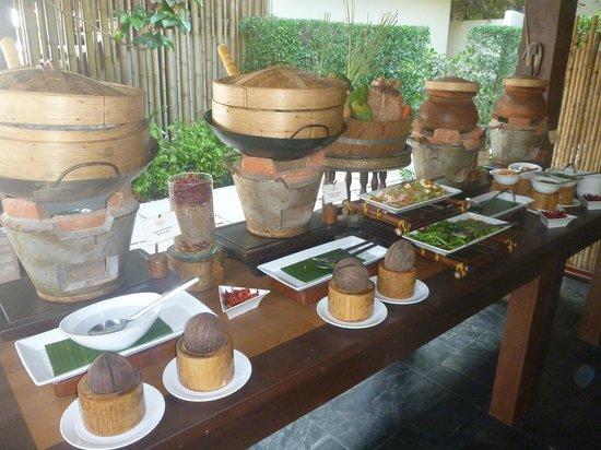 Anantara Rasananda Koh Phangan Villas: frühstück thai-art