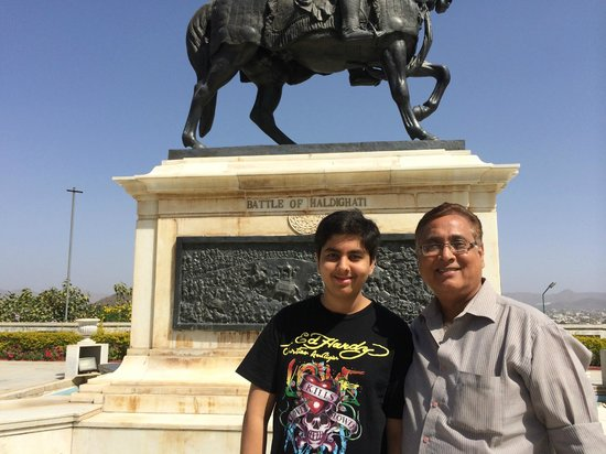 Maharana Pratap Memorial: The battle of Haldighati