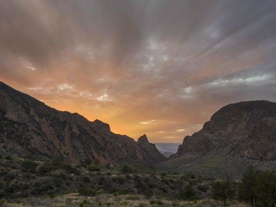 Big Bend National Park : Window Sunset
