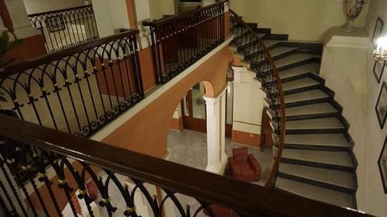 Imperial Hotel: Stairway