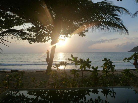 Anantara Rasananda Koh Phangan Villas: sonnenaufgang ocean pool suite