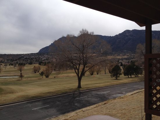 Cheyenne Mountain Resort: View from our hot tub.