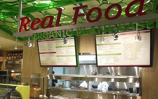 Real Food Daily LAX Terminal 4 Los Angeles Restaurant