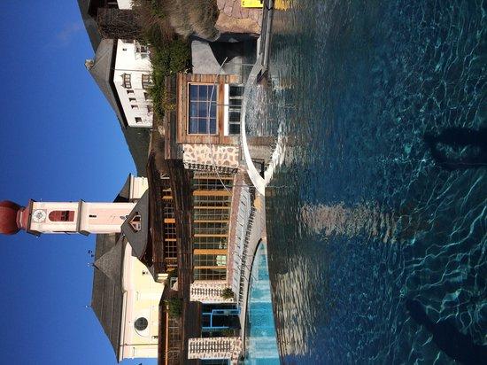 Hotel Adler Dolomiti Spa & Sport Resort: panoramica piscine
