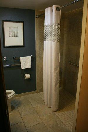 Hampton Inn Manhattan/Times Square South: Badezimmer / Dusche