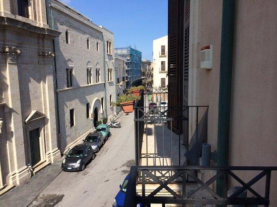 Domus Mariae : Вид с балкончика