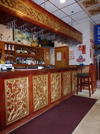 The crownery bar area take out counter picture of the for 77 chinese cuisine