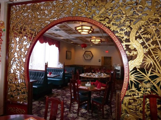 The Crownery Chinese Restaurant Wall Rear Dining Room
