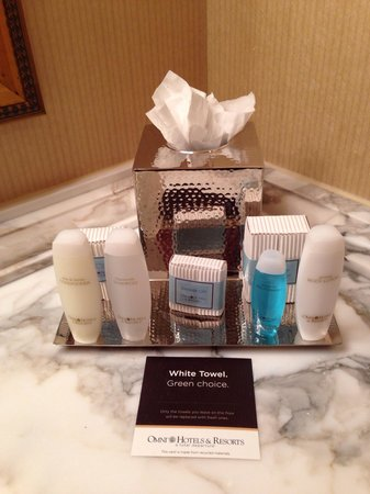 Omni Dallas Hotel at Park West: Amenities were great!