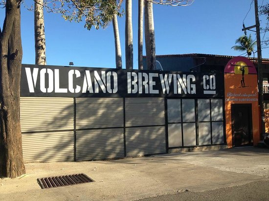 Volcano Brewing Company: Volcano Brewing Co. Newly relocated to Tamarindo, CR