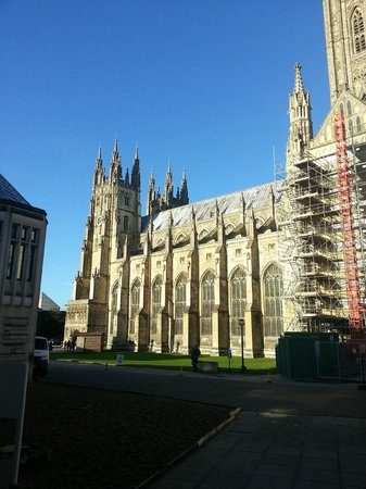 Canterbury Cathedral Lodge: View from the room