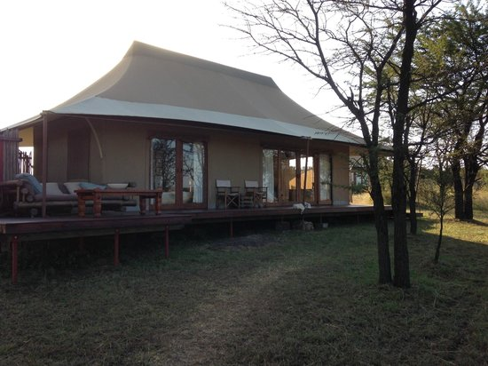 Sayari Camp, Asilia Africa : Notre tente