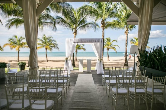 Courtyard By Marriott Isla Verde Beach Resort Wedding Ceremony