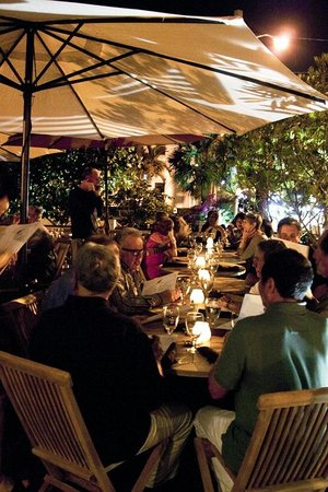 Outdoor candle light dinner picture of the porch delray beach the porch outdoor candle light dinner workwithnaturefo