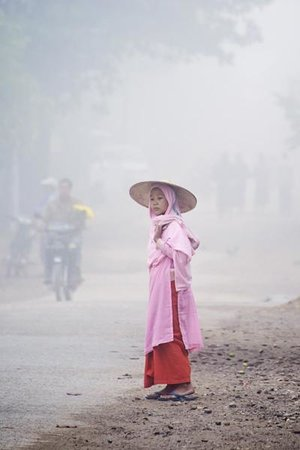 The streets of Hsipaw, Myanmar