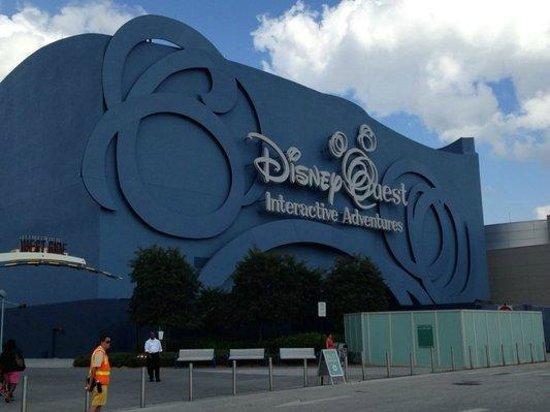 DisneyQuest Indoor Interactive Theme Park : Exterior.