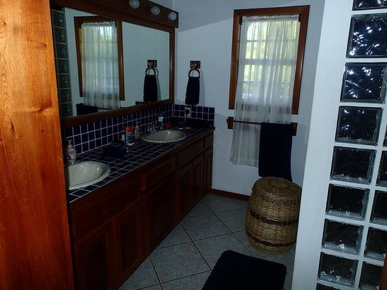 Cocotal Inn & Cabanas: Master suite bathroom