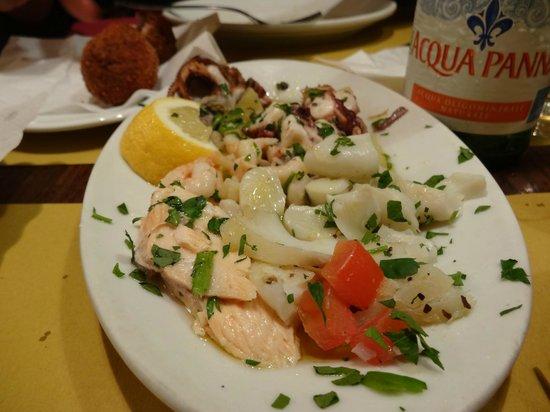 Cà D'Oro alla Vedova : Seafood platter