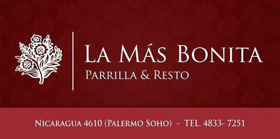 La Mas Bonita : La Más Bonita - Parrilla & Resto