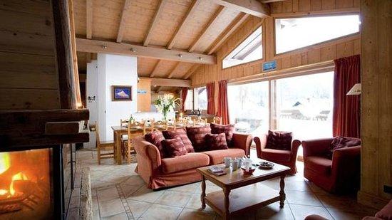 Yeti Lodge : Mont Blanc Lounge