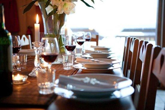 Yeti Lodge : Fine Dining