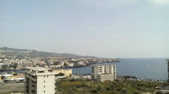 Lognina B&B: Vista panoramica dal balcone della suite!