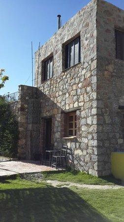 Refugio Romano: Vistas exteriores del hotel.