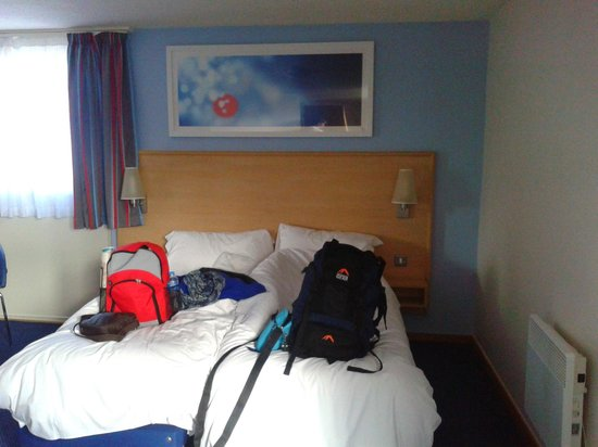Travelodge London Central Kings Cross: Beds