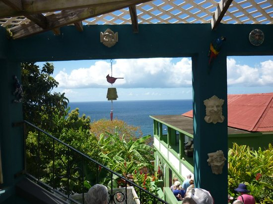 Clay Villa Plantation House & Gardens: one of many outstanding views