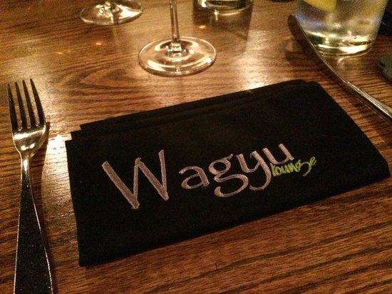 Wagyu: Restaurant