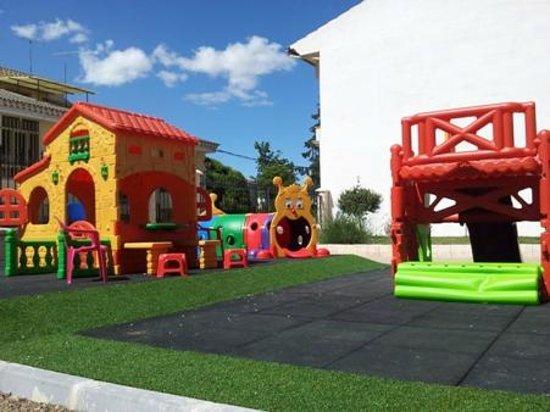 Refugio Convento de Maria: Parque Infantil del Restaurante