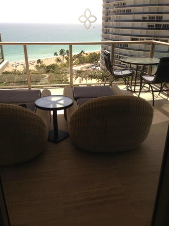 The St. Regis Bal Harbour Resort: Room view