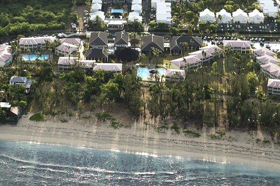 Hotel Le Recif: Überblick (aus UL-Flugzeug)