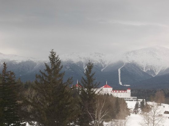The Lodge at Bretton Woods: taken from our balcony