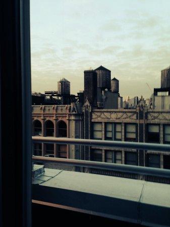 Wyndham Garden Manhattan Chelsea West : And has balcony!!!