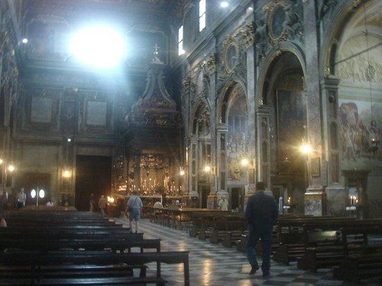 Basilica della Santissima Annunziata - Chiesa di Santa Maria della Scala: La SS. Annunziata - interior