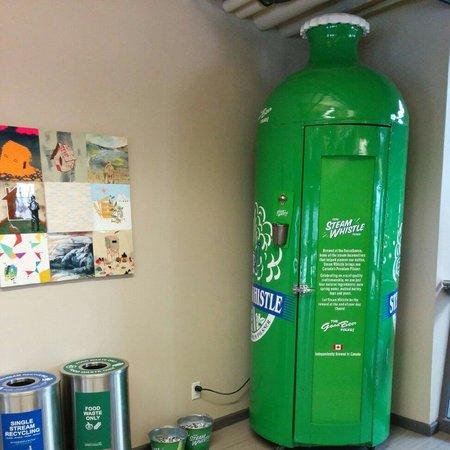 Steam Whistle Brewery: Steamwhistle fridge