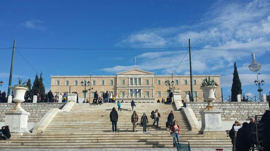 NJV Athens Plaza: House of parliament