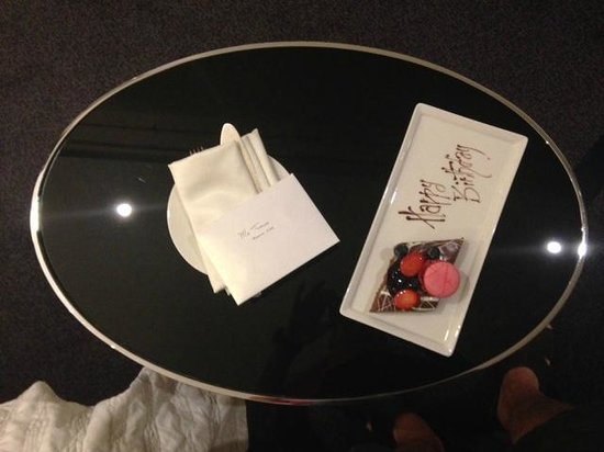 Le Royal Meridien Abu Dhabi: Birthday surprise from Le Meridien Abu Dhabi staff...
