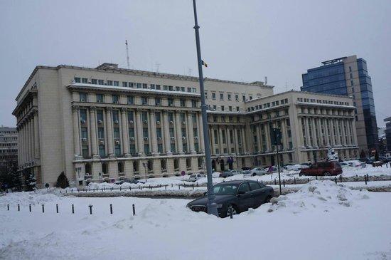 Revolution Square (Piata Revolutiei): Communist party ex-headquarters.