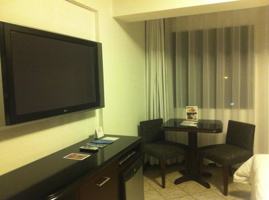BTH Hotel : Our flat screen in the room